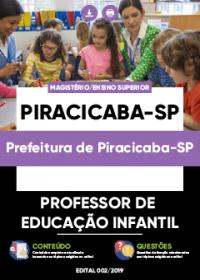 Professor de Educação Infantil - Prefeitura de Piracicaba-SP