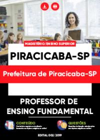 Professor de Ensino Fundamental - Prefeitura de Piracicaba-SP