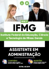 Assistente em Administração - IFMG