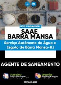 Agente de Saneamento - SAAE Barra Mansa-RJ