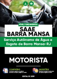 Motorista - SAAE Barra Mansa-RJ