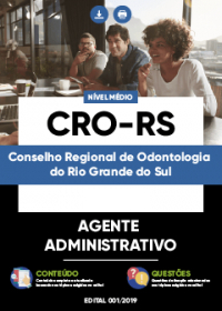 Agente Administrativo - CRO-RS