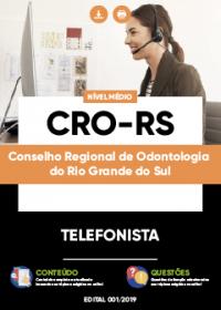 Telefonista - CRO-RS