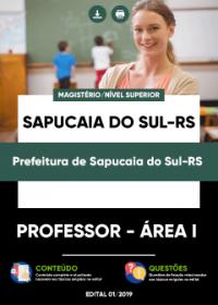 Professor - Área I - Prefeitura de Sapucaia do Sul-RS
