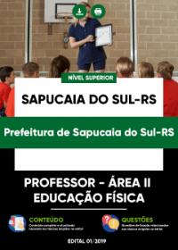 Professor - Área II - Educação Física - Prefeitura de Sapucaia do Sul-RS
