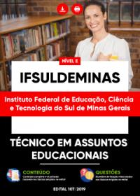 Técnico em Assuntos Educacionais - IFSULDEMINAS