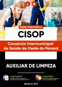 Auxiliar de Limpeza - CISOP