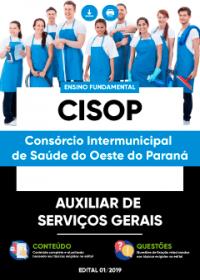 Auxiliar de Serviços Gerais - CISOP