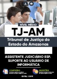 Assistente Judiciário - Suporte ao Usuário de Informática - TJ-AM