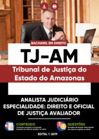 Analista Judiciário - Direito e Oficial de Justiça Avaliador - TJ-AM