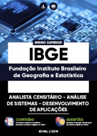 Analista Censitário - Análise de Sistemas - Desenvolvimento de Aplicações - IBGE