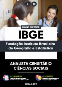 Analista Censitário - Ciências Sociais - IBGE