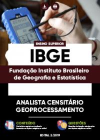 Analista Censitário - Geoprocessamento - IBGE