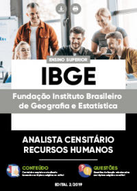 Analista Censitário - Recursos Humanos - IBGE