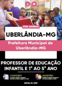 Professor de Educação Infantil e 1º ao 5º Ano - Prefeitura de Uberlândia-MG