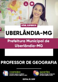 Professor de Geografia - Prefeitura de Uberlândia-MG