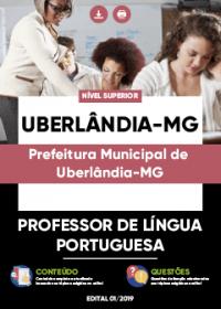 Professor de Língua Portuguesa - Prefeitura de Uberlândia-MG