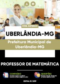 Professor de Matemática - Prefeitura de Uberlândia-MG
