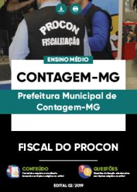 Fiscal do Procon - Prefeitura de Contagem-MG