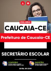 Secretário Escolar - Prefeitura de Caucaia-CE