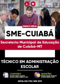 Técnico em Administração Escolar - SME-Cuiabá