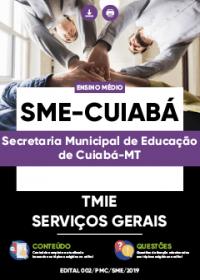 Técnico em Manutenção e Infraestrutura - Serviços Gerais - SME-Cuiabá