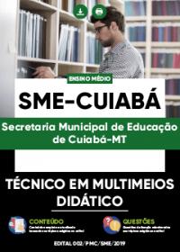 Técnico em Multimeios Didático - SME-Cuiabá