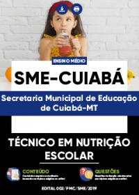 Técnico em Nutrição Escolar - Serviços Gerais - SME-Cuiabá