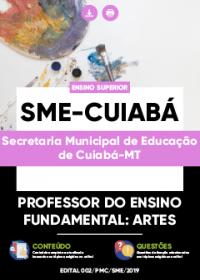 Professor do Ensino Fundamental - Artes - SME-Cuiabá