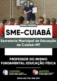 Professor do Ensino Fundamental - Educação Física - SME-Cuiabá