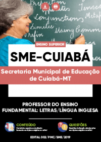 Professor do Ensino Fundamental - Língua Inglesa - SME-Cuiabá