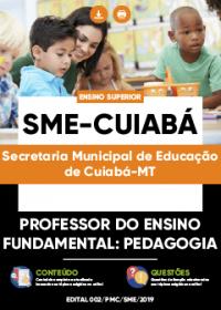 Professor do Ensino Fundamental - Pedagogia - SME-Cuiabá
