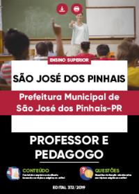Professor e Pedagogo - Prefeitura de São José dos Pinhais-PR
