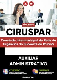 Auxiliar Administrativo - CIRUSPAR