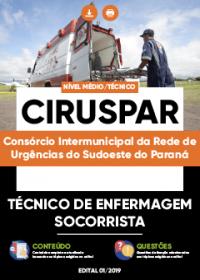 Técnico de Enfermagem Socorrista - CIRUSPAR