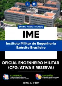 Oficial Engenheiro Militar - CFG-Ativa e Reserva - IME