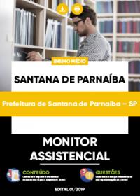 Monitor Assistencial - Prefeitura de Santana de Parnaíba-SP