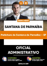 Oficial Administrativo - Prefeitura de Santana de Parnaíba-SP