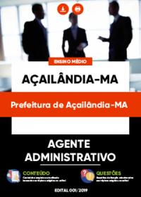 Agente Administrativo - Prefeitura de Açailândia-MA
