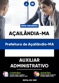 Auxiliar Administrativo - Prefeitura de Açailândia-MA