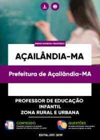 Professor de Educação Infantil - Prefeitura de Açailândia-MA