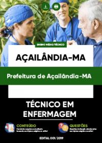 Técnico em Enfermagem - Prefeitura de Açailândia-MA