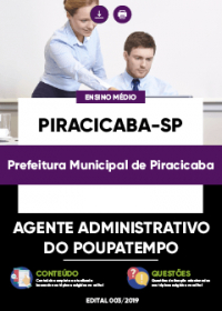 Agente Administrativo do Poupatempo - Prefeitura de Piracicaba-SP