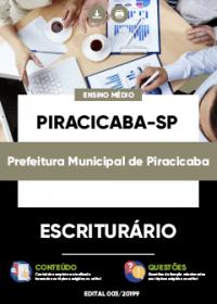 Escriturário - Prefeitura de Piracicaba-SP