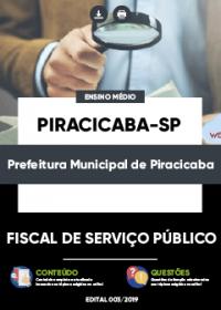 Fiscal de Serviço Público - Prefeitura de Piracicaba-SP