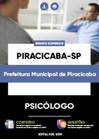 Psicólogo - Prefeitura de Piracicaba-SP