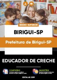 Educador de Creche - Prefeitura de Birigui-SP