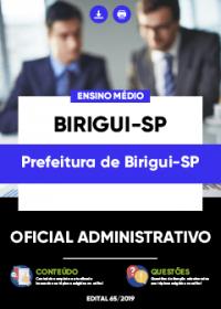 Oficial Administrativo - Prefeitura de Birigui-SP