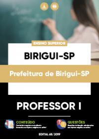 Professor I - Prefeitura de Birigui-SP