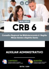 Auxiliar Administrativo - CRB 6ª Região